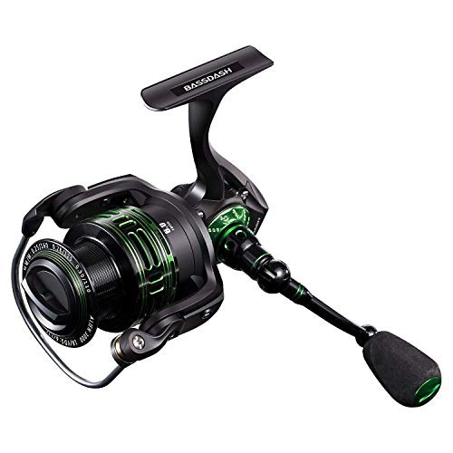 Bassdash Spinning reel 1000 2000 3000 4000 Ultralight fishing reel Combined with
